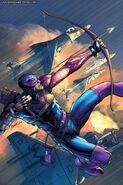 Hawkeye's First Costume