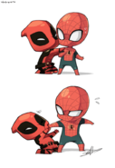How Deadpool sees his and Spidey's friendship