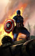Steve as Captain America