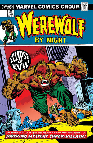 Werewolf by Night Vol 1 25