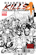Deadpool Kills the Marvel Universe Vol 1 4 2nd Printing Variant