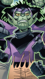 Lyja (Earth-5631) Skrulls Vs. Power Pack Vol 1 1
