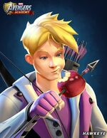 Clinton Barton (Earth-TRN562) from Marvel Avengers Academy 001