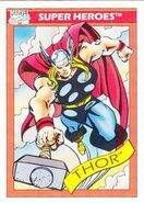 Thor Odinson (Earth-616) from Marvel Universe Cards Series I 0001