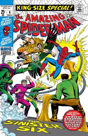 Amazing Spider-Man Annual Vol 1 6