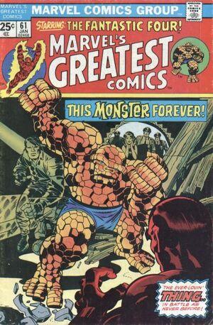 Marvel's Greatest Comics Vol 1 61