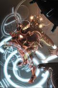 Invincible Iron Man Vol 2 1 Textless