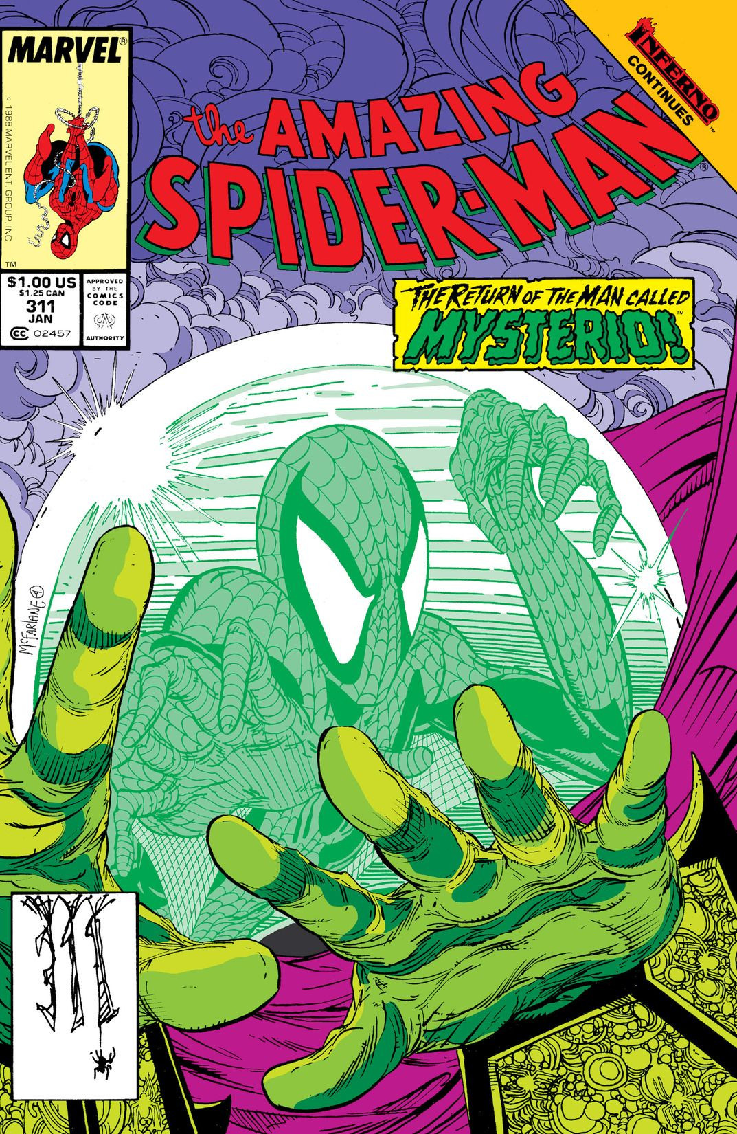 amazing spiderman vol 1 311 marvel database fandom