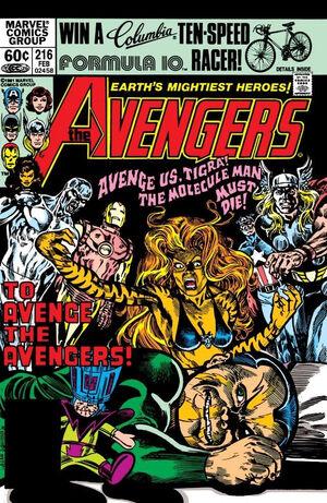 Avengers Vol 1 216