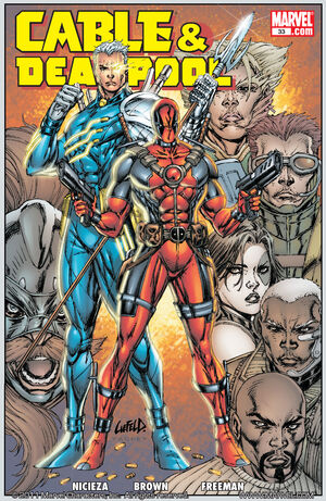 Cable & Deadpool Vol 1 33