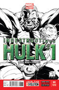 Indestructible Hulk Vol 1 1 Quesada Sketch Variant
