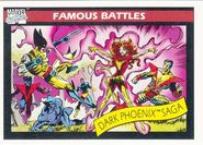 The Dark Phoenix Saga (Earth-616) from Marvel Universe Cards Series I 0001