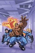 Marvel Adventures Fantastic Four Vol 1 0 Textless