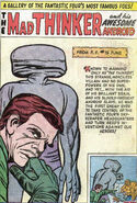 Mad Thinker (Julius) (Earth-616) and the Awesome Android Gallery Page from Fantastic Four Annua Vol 1 1