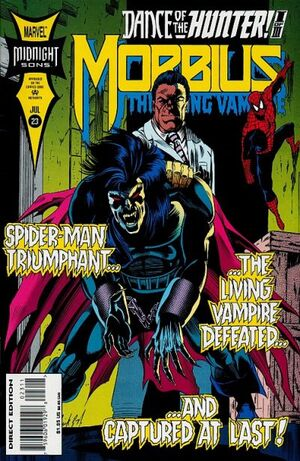 Morbius The Living Vampire Vol 1 23