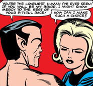 Susan Storm (Earth-616) and Namor McKenzie (Earth-616) from Fantastic Four Vol 1 4 0002