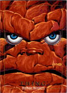 Benjamin Grimm (Earth-616) from Marvel Masterpieces Trading Cards 1992 0001