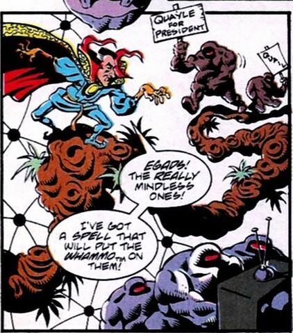 File:Not-too-bright dimension, Stephen Deranged, (really) Mindless Ones (Earth-9047) from What The-- Vol 1 19.jpg