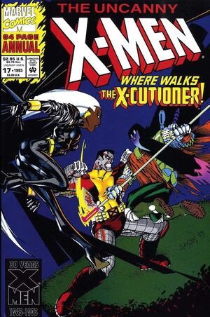 Uncanny X-Men Annual Vol 1 17