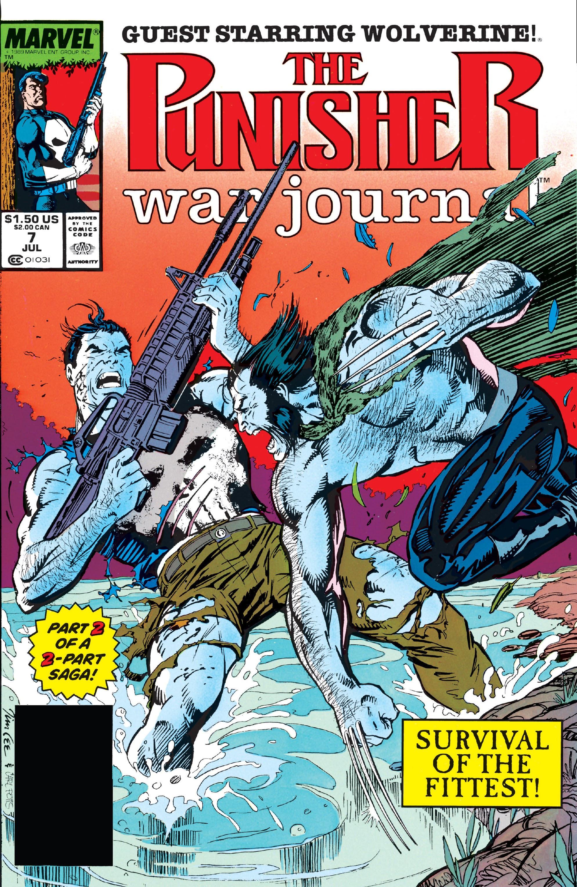 Punisher War Journal Vol 1 7