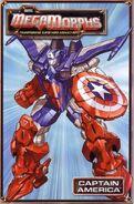 Marvel MegaMorphs Captain America Vol 1 1