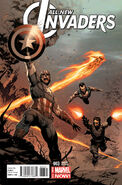 All-New Invaders Vol 1 3 Opeña Variant