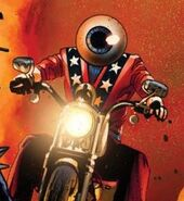 Orb (Mercenary) (Earth-616) from Ghost Riders Heaven's on Fire Vol 1 5 cover