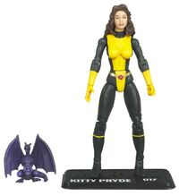 Katherine Pryde and Lockheed (Earth-616) from Marvel Universe (Toys) Series 2 Wave VIII 0001