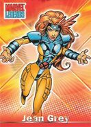 Jean Grey (Earth-616) from Marvel Legends (Trading Cards) 0001