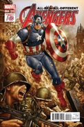 All-New, All-Different Avengers Vol 1 4 Captain America 75th Anniversary Variant