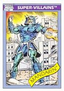 Mandarin (Earth-616) from Marvel Universe Cards Series I 0001
