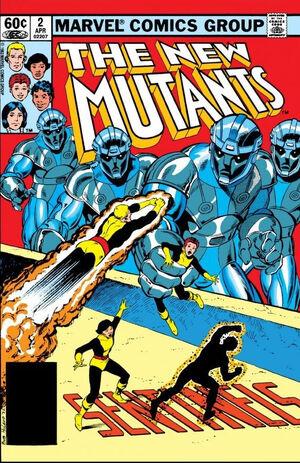 New Mutants Vol 1 2