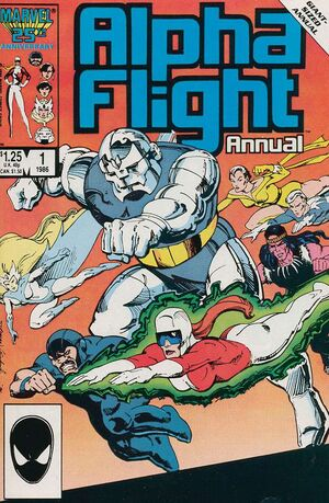 Alpha Flight Annual Vol 1 1