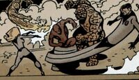 Fantastic Four (Earth-11080) from Marvel Universe Vs. The Punisher Vol 1 1 0001