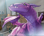 Lockheed (Earth-97161) from Lockjaw and the Pet Avengers Vol 1 1 001