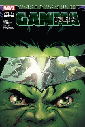World War Hulk Gamma Corps Vol 1 2