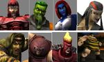 Brotherhood of Evil Mutants (Earth-TRN169) from X-Men Next Dimension 001