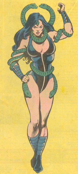 Tanya Sealy (Earth-616) from Official Handbook of the Marvel Universe Vol 2 2 0001