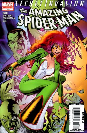 Secret Invasion The Amazing Spider-Man Vol 1 3