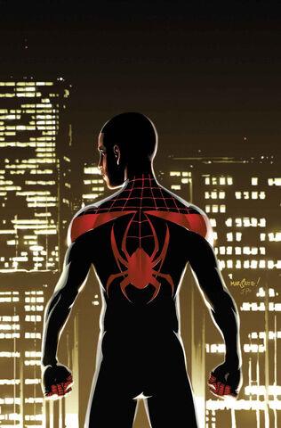 File:Miles Morales Ultimate Spider-Man Vol 1 1 Textless.jpg