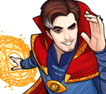 Stephen Strange (Earth-TRN562) from Marvel Avengers Academy 006
