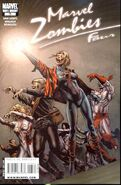 Marvel Zombies 4 Vol 1 3 80s Decade Variant