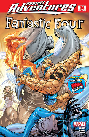 Marvel Adventures Fantastic Four Vol 1 34