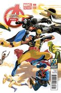 Avengers Vol 5 8 50 Years of Avengers Variant