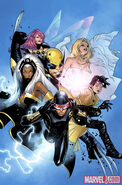 X-Men Vol 3 1 Olivier Coipel Variant Textless
