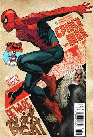 File:Amazing Spider-Man Vol 3 3 Mile High Comics Exclusive Variant.jpg