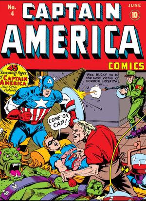 Captain America Comics Vol 1 4
