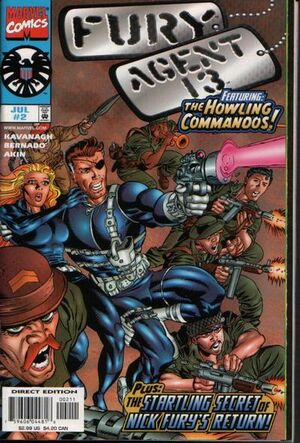 Fury Agent 13 Vol 1 2