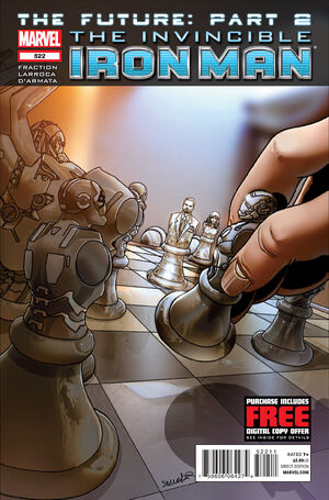 Invincible Iron Man Vol 1 522