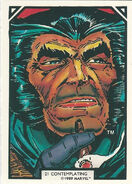 James Howlett (Earth-616) from Arthur Adams Trading Card Set 0001